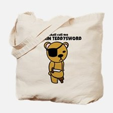 Captain Teddysword Tote Bag