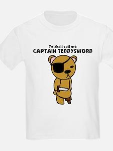 Captain Teddysword T-Shirt