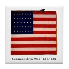 US National color (NY makers) Tile Coaster