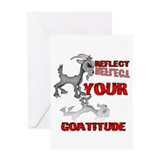 Goat Attitude Greeting Card