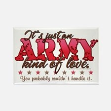 Army Kind of Love Rectangle Magnet