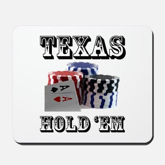 Texas Hold 'em Mousepad