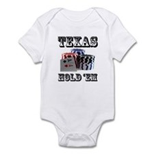 Texas Hold 'em Infant Bodysuit