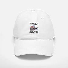 Texas Hold 'em Baseball Baseball Cap
