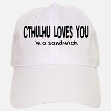 Cthulhu Loves You Baseball Baseball Cap