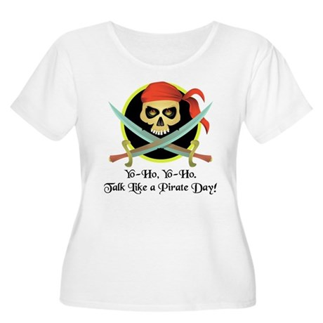 Pirate Day Women's Plus Size Scoop Neck T-Shirt