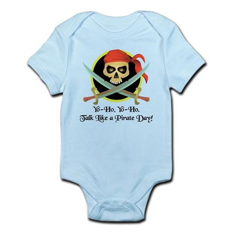 Pirate Day Infant Bodysuit