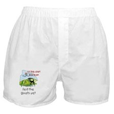 Haven't Fed Goats Yet Boxer Shorts
