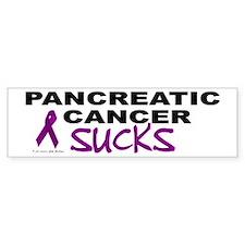 Pancreatic Cancer Sucks 1 Bumper Bumper Sticker