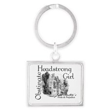 Funny Colin firth Landscape Keychain
