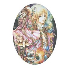 Howl's Moving Castle Oval Ornament