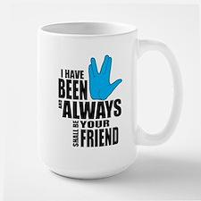 Spock Friend Large Mug