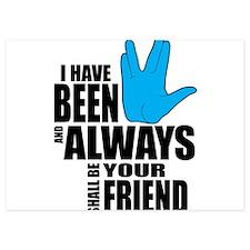 Spock Friend Invitations