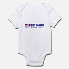 Kings Canyon National Park Infant Bodysuit