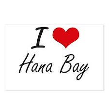 I love Hana Bay Hawaii a Postcards (Package of 8)