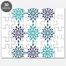 Blue Design Puzzle