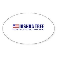 Joshua Tree National Park Oval Decal