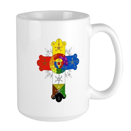 Rose Cross Large Mug
