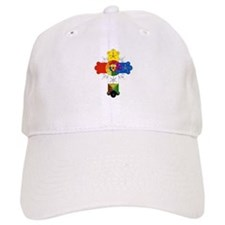 Rose Cross Baseball Cap