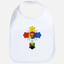 Rose Cross Bib