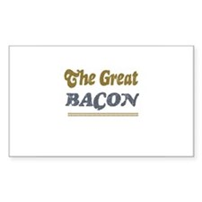 Bacon Rectangle Decal