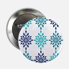 "Blue Design 2.25"" Button"