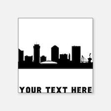 Wichita Cityscape Skyline (Custom) Sticker