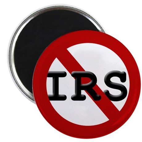 """No IRS 2.25"""" Magnet (10 pack)"""