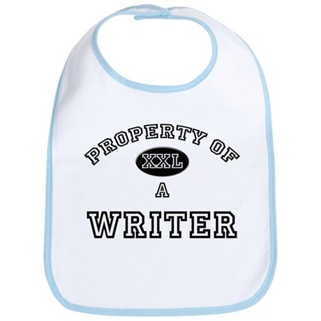 Property of a Writer Bib