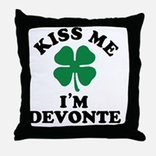 Unique Devonte Throw Pillow