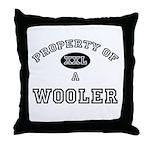 Property of a Wooler Throw Pillow