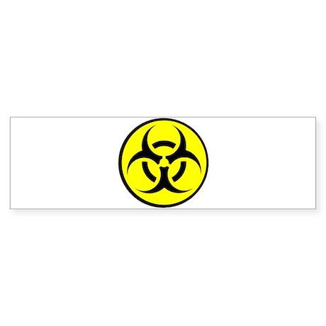 Biohazard Bumper Sticker