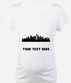 Seattle Cityscape Skyline (Custom) Shirt