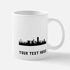 San Francisco Cityscape Skyline (Custom) Mugs