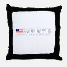 Black Canyon National Park Throw Pillow