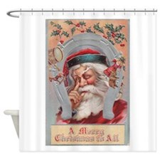 Vintage Christmas Card - A Merry Christmas To All