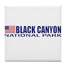 Black Canyon National Park Tile Coaster