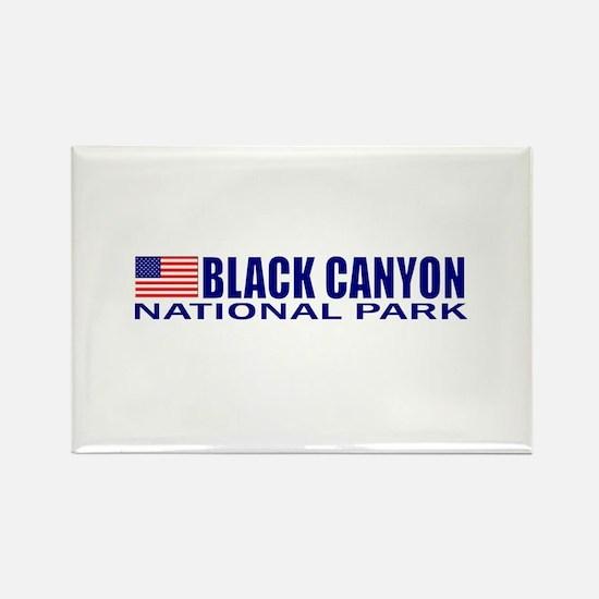 Black Canyon National Park Rectangle Magnet