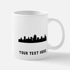 Salt Lake City Cityscape Skyline (Custom) Mugs