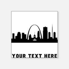 Saint Louis Cityscape Skyline (Custom) Sticker