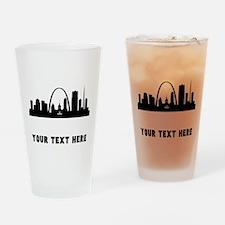 Saint Louis Cityscape Skyline (Custom) Drinking Gl