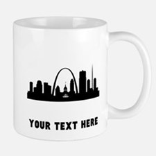 Saint Louis Cityscape Skyline (Custom) Mugs