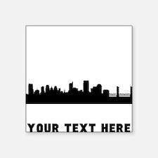 Sacramento Cityscape Skyline (Custom) Sticker