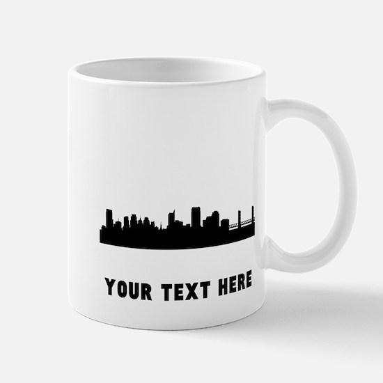 Sacramento Cityscape Skyline (Custom) Mugs