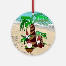 Gnome Round Ornament