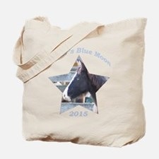 Surfer's Blue Moon, Chincoteague Pony Tote Bag