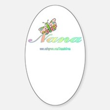NANA 2 Oval Decal