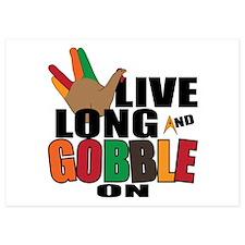Live Long Gobble Invitations