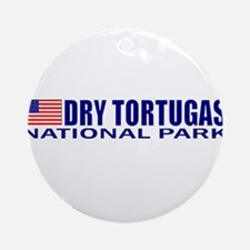 Dry Tortugas National Park Ornament (Round)