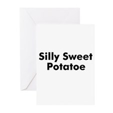Silly Sweet Potatoe  Greeting Cards (Pk of 10)